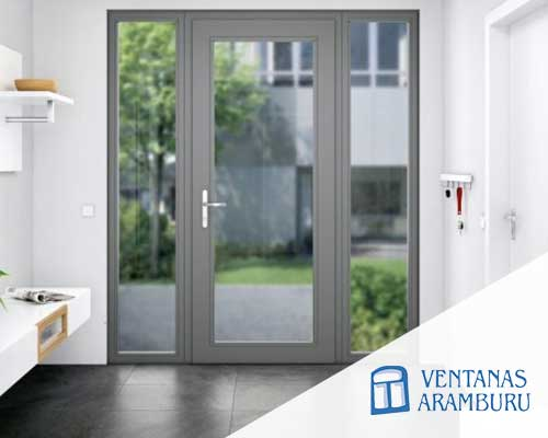 Puertas en aluminio Aramburu